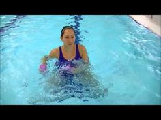 Aqua Noodle: Knee Strengthening WATER NOODLE WORKOUT#3 - WECOACH - YouTube