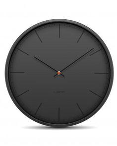 Wall clock Tone 35cm Black