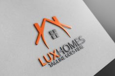 Luxe Homes Logo ~ Logo Templates ~ Creative Market Business Signs, Business Brochure, Business Card Logo, Bc Logo, Construction Logo Design, Real Estate Logo Design, Professional Logo Design, Branding, Logo Maker