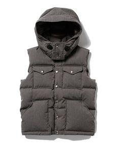 Pilgrim Surf+SupplyのTHE NORTH FACE PURPLE LABEL / 65/35 Hooded Sierra Vestです。こちらの商品はBEAMS Online Shopにて通販購入可能です。