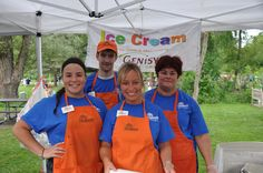 PHOTO Neiman's Market scoops ice cream at Concerts in the Park.