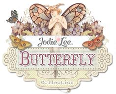 The Butterfly Collection...A sweet, vintage essence, gorgeous colors, and beautiful patterns are effortlessly combined in the Butterfly Collection by Jodie Lee. With papers, flowers, crystals, wood icons, tags, and more...you will find everything you need in this stunning collection!