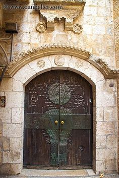 Synagogue door arch, Jerusalem