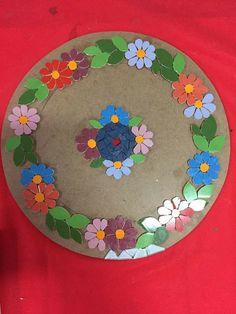 Mirror Mosaic, Mosaic Wall, Mosaic Glass, Mosaic Birdbath, Mosaic Garden Art, Mosaic Birds, Mosaic Flowers, Mosaic Crafts, Mosaic Projects