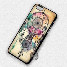 Vintage Water Color Art Dream Catcher - iPhone 7 6s 5c 4s SE Cases & Covers