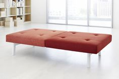 ophelis docks upholstered bench for the office, hotel or university