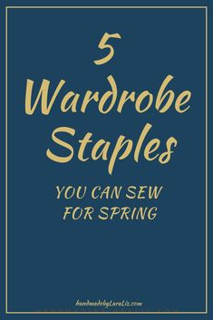 5 Fall Handmade Wardrobe Staples - Handmade by Lara Liz Casual Day Outfits, Spring Outfits, Work Outfits, Diy Your Clothes, Sewing Clothes Women, Wardrobe Staples, Capsule Wardrobe, Diy Tops, Sewing Projects For Beginners
