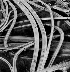 intertwining roads - crossing paths