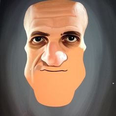 Yep a colour caricature! Request from @posterlounge for this one. Not quite sure who he is? Can you guess? #illustration #robart #wip #instaart #digitalart #digitalpainting #instaartist #wacom #caricature #celebrity instagram   art   ideas   follow
