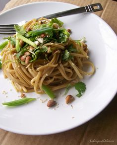 Baking with Blondie : Spicy Thai Noodles