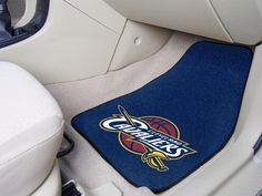NBA - Cleveland Cavaliers 2-piece Carpeted Car Mats 17x27 - FANMATS - Dropship Direct Wholesale