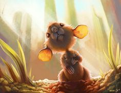 New Morning by kapieren ~ Jake, isn't this cute!? I hope this morning finds you and your mum well, and is the start of a great weekend! x