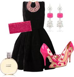"""""""Wink for Pink"""" by savedbyhim on Polyvore"""
