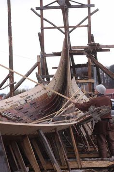 Robin Wood: building the world's most iconic viking ship, part 3