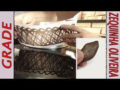 Grade e Folha de Chocolate passo a passo - YouTube