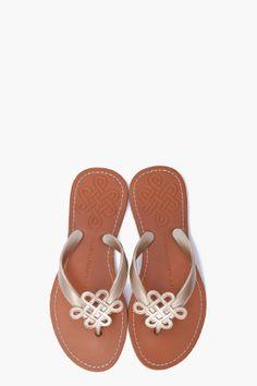 DVF | lush love knot sandals
