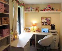 {.BS.} - Bendito Scrap - Porque fazer Arte faz Bem!: Inspiração: Craft Room!
