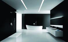 salle de bain moderne minimaliste- design futuriste