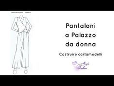 YouTube Fashion 2018, Womens Fashion, Pants Pattern, E Design, Sewing Patterns, Video, Youtube, High Fashion, Patterns
