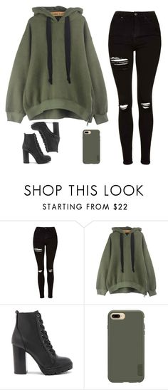 """"" by ejeffrey3 on Polyvore featuring Topshop, WithChic, Steve Madden and Casetify"