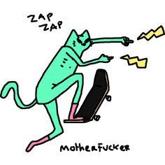 0 Easy Animal Drawings, Easy Animals, Trippy Wallpaper, Art Hoe, Blue Cats, Psychedelic Art, Cat Art, Doodle Art, Art Inspo