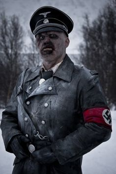 Zombie Nazi from the movie Dead Snow