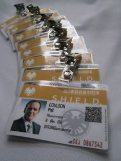 Introducing my new laminated ID Badges. This design is inspired by ...
