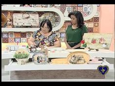 Artesanato - Placa decorativa de palets com decoupage - YouTube