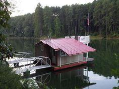 Floating Red Lake Lounge