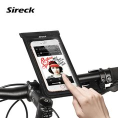 2017 Sireck Bike Phone Bags For 4/6  Phone Bicycle Bags Waterproof Top Front Frame Handlebar Bag Cycling Bags Accessories Parts ** AliExpress Affiliate's buyable pin. Details on product can be viewed on www.aliexpress.com by clicking the VISIT button
