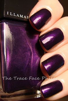 Illamasqua Baptiste  im in love with this deep purple! a total must have!