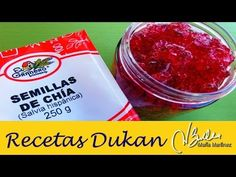 Mermelada Dukan de Chía (fase Crucero) / Lowcarb Strawberry Chia Jam - YouTube