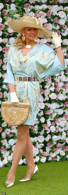 Aintree Festival 2019 Day Glamorous guests get out their best glad rags for Ladies Day Blue Frock, National Festival, Bright Dress, Monochrome Outfit, Racing Events, Boucle Jacket, Black Blazers, Ladies Day, Looking For Women