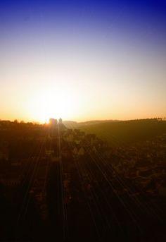 Sonnenaufgang über Altensteig ~ Altstadt