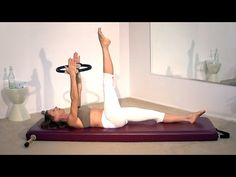 The Pilates Ring is a fantastic tool used to stretch, strengthen and tone during your Pilates routine! This Pilates Ring Workout is easy to do at home and wi. Pilates Ring Exercises, Pilates Body, Pilates Barre, Pilates Reformer, Pilates Workout, Pilates Fitness, Pilates Studio, Magic Circle Pilates, Rings Workout