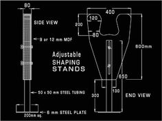 shaping stand plans | Swaylocks