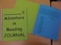 Integrated Strategy Units in 4th  5th Grade:  Reading notebooks are a great substitute for strategy sheets for fourth and Fifth graders.  This notebook allows them to record their thoughts and feelings toward the book, ask questions, consider changes, experience problems, and analyze characters. I love that it is called a reading journal and not a reading log because it makes the journal more appealing for students to express themselves.