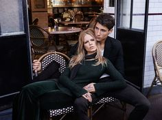 Anna Ewers h&m fall in love campaign