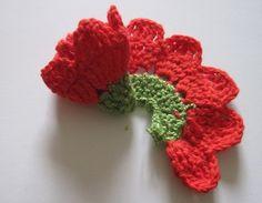 Rosas a crochet o ganchillo Paso a Paso