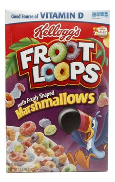 Kellogg's Froot Loops with Fruity Shaped Marshmallows