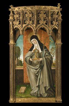 Saint Clare of Assisi / Santa Clara de Asís / Sainte Claire d'Assise // ca. 1515 // Juan de Borgoña // Musée des beaux-arts de Montréal