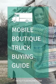 If you want to launch a fashion truck or a mobile boutique, this is your ultimate guide to picking out and purchasing a vehicle. #mobileboutique #fashiontruck #smallbiz #truckpreneur #truckboss