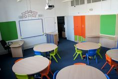 We design and manufacture furniture for libraries, schools & nurseries with the aim of creating vibrant, colourful and funky learning environments. Classroom Design, Funky Furniture, Learning Environments, Primary School, Nursery, Layout, Table, Inspiration, Home Decor
