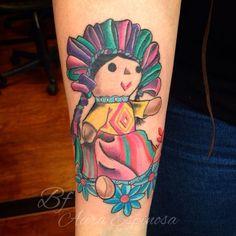 Tatuaje de Muneca (Michoacan Mexico)