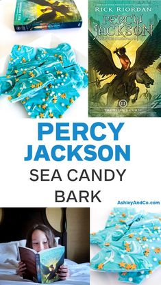 I made something blue and delicious for the kids to enjoy along with their Percy Jackson books. Find out how to make your own Percy Jackson Sea Candy Bark and see why we are loving this series! Percy Jackson Party, Percy Jackson Crafts, Percy Jackson Birthday, Percy Jackson Books, Jackson Movie, Percy Jackson Wallpaper, Sea Of Monsters, Candy Bark, Blue Chocolate