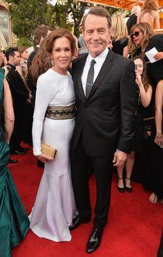 "Bryan Cranston - ""Breaking Bad"" and Robin Dearden"