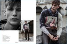 Baptiste Radufe | Vogue Man Ukraine | 2017 Editorial