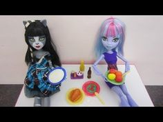 How to make plates for dolls and miniatures