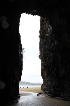 Cathedral Caves in the Catlins - New Zealand