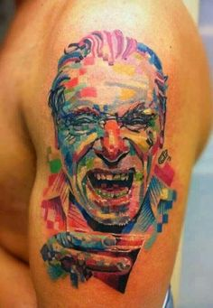 Bukowski tattoo kind of creepy, kind of crazy